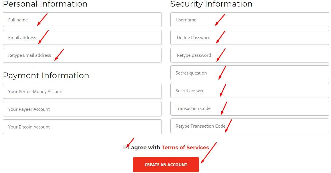 Регистрация в Zeissbank 2