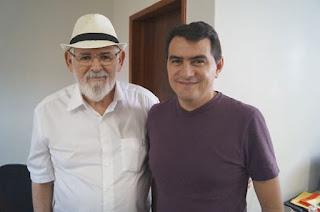 Deputado Federal Luiz Couto visita prefeito de Picuí e tratam da liberação de recursos para o município