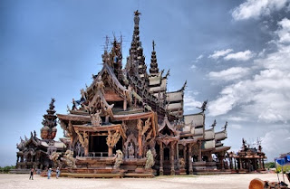 The Sanctuary of Truth | Paket Tour Murah ke Thailand 2013