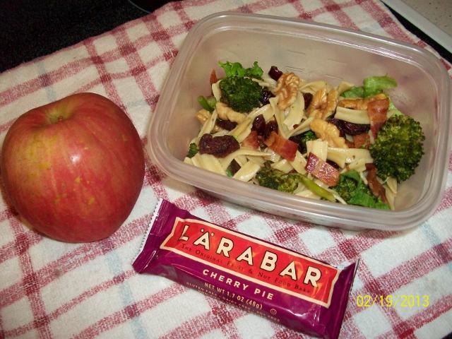 dinner leftover salad