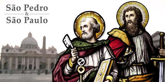 São Pedro e São Paulo Apóstolos - Imagens, fotos, ícones, pinturas, vitrais