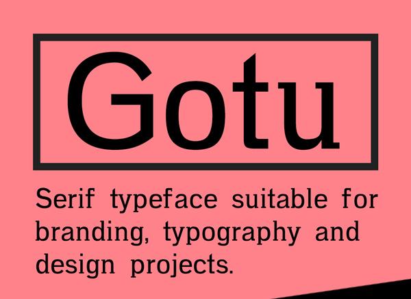 Gotu Free Font