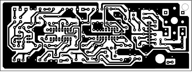 pesawat radio fm layout dan PCB
