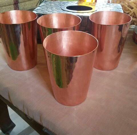 Hasil gambar untuk gelas tembaga
