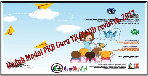 Unduh Modul PKB Guru TK/PAUD revisi th. 2017