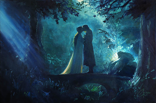 Aragorn ve Arwen