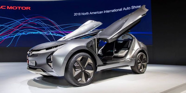 Motor Show in Detroit GAC Enverge Concept
