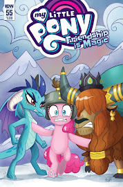 MLP Friendship is Magic #55 Comic