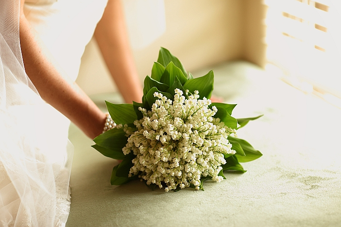 Lily Of The Valley Wedding Bouquet: Hearts & Flowers: Decorating For Your Wedding Day: Lily Of