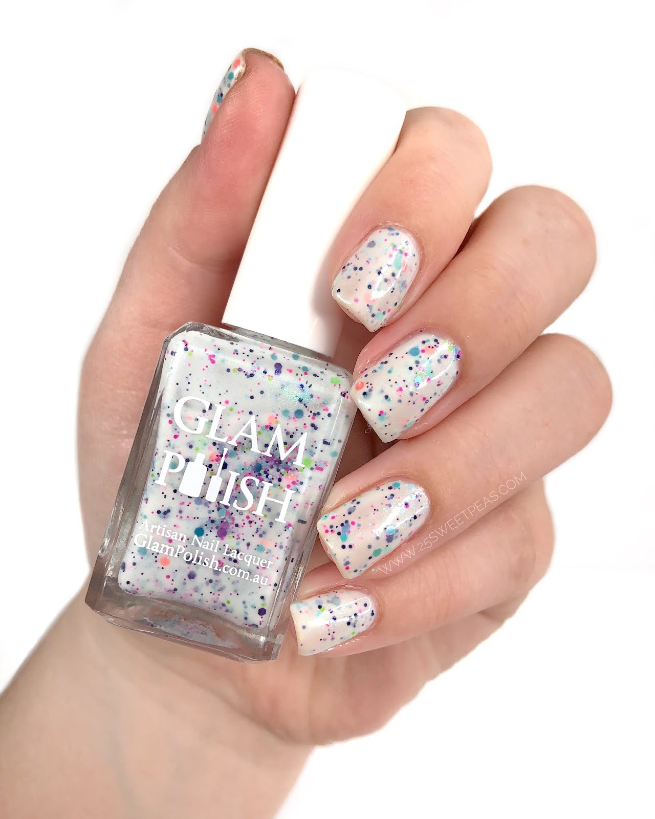 Glam Polish Ship Happens! 25 Sweetpeas