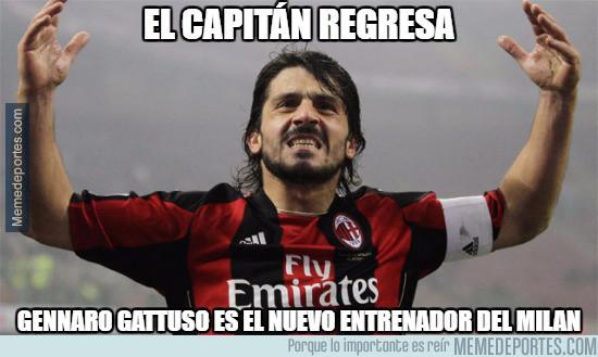 Gattuso dirigirá al filial del Milan