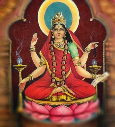 Hindu Goddess bhairavi picture