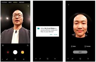 Cara Membuat AR Emoji dengan Galaxy S9, Begini Caranya