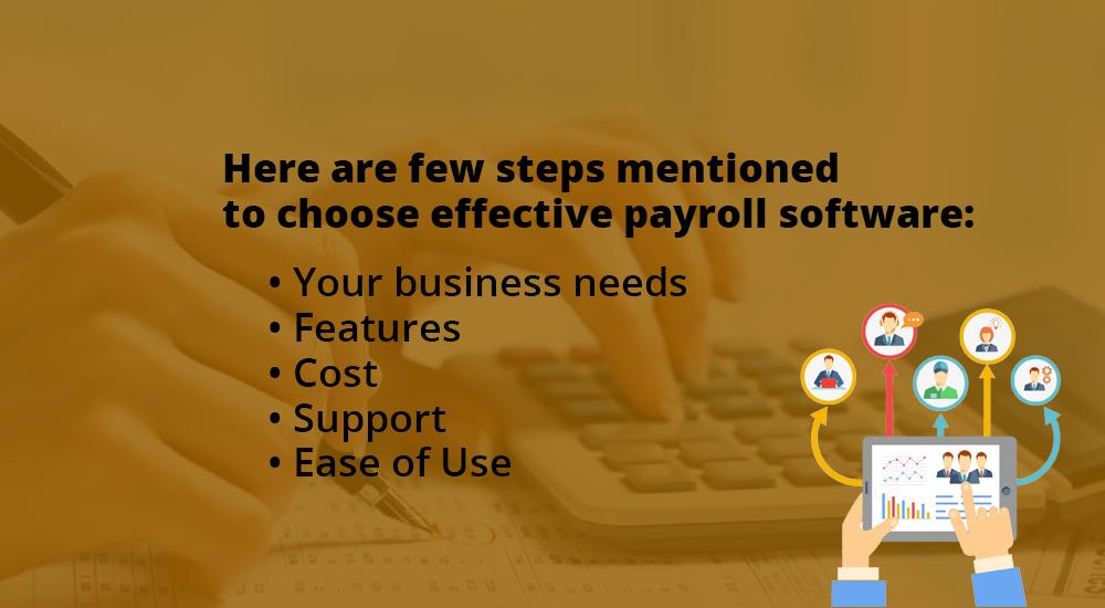 Effective Payroll Software