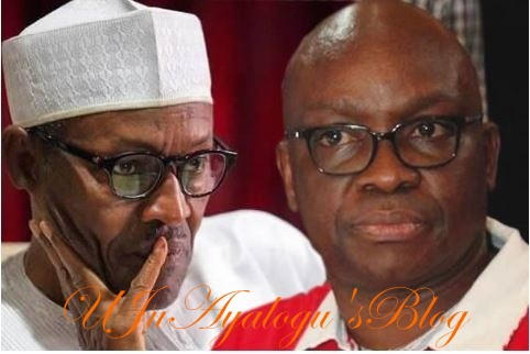 Buhari is a rejected president-Governor Fayose declares