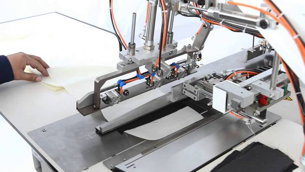 Automation in apparel manufacturing