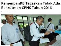Pendaftaran CPNS Online 2019/2020 Resmi Dibuka Awal Tahun, Tunggu Info Menpan dan BKN