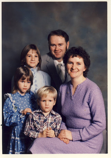 Our small family 1985