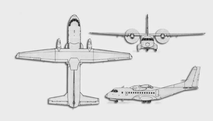 airplane scale modelkit  casa nurtanio cn