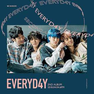 WINNER 2nd ALBUM 'EVERYD4Y