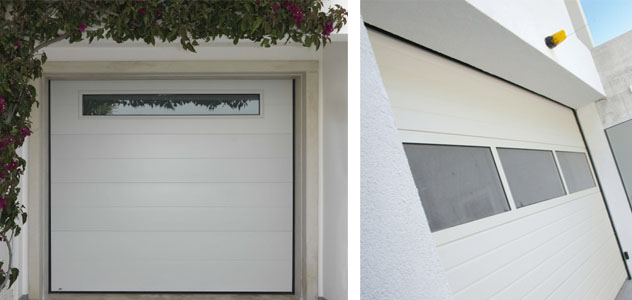 Carpinter a met lica lozano puertas seccionales - Puertas de cochera ...