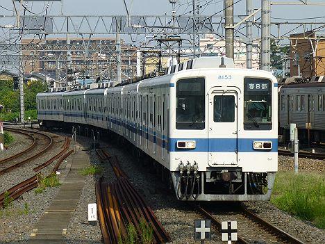 東武野田線 春日部行き 8000系