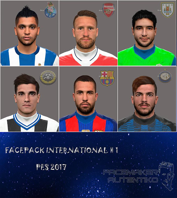 PES 2017 Facepack Ultimate By Autentiko