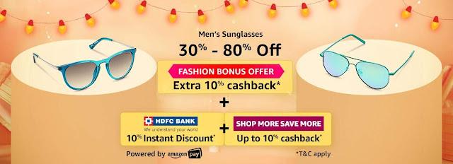 Men's Sunglasses 30% to 80% off
