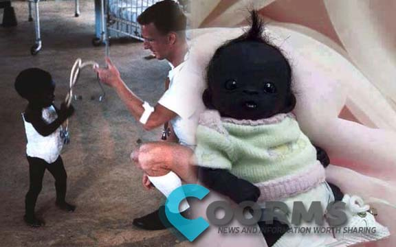Worlds Blackest baby in the universe