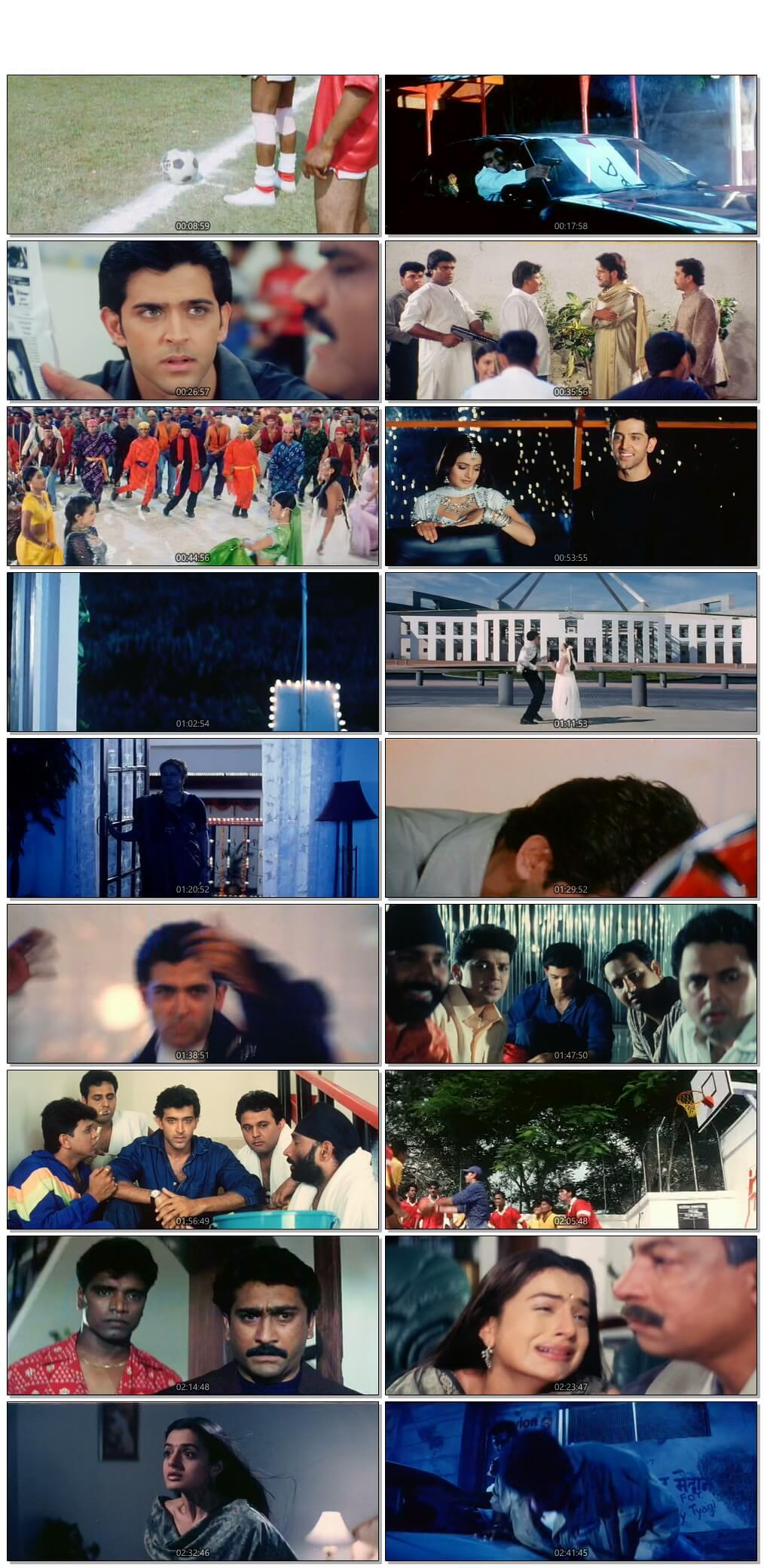 Screen Shot Of Aap Mujhe Achche Lagne Lage 2002 Full Movie Free Download HD 720P Watch Online
