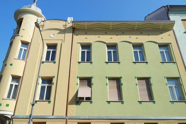 ljubljana art nouveau miklošičeva cesta parc Miklošič