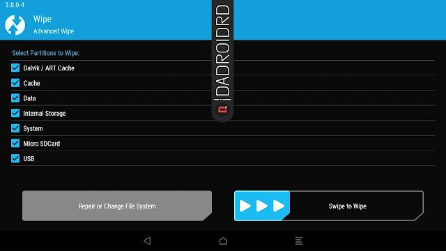 Cara atasi Bootloop hanya dengan memakai TWRP Cara atasi Bootloop hanya dengan memakai TWRP
