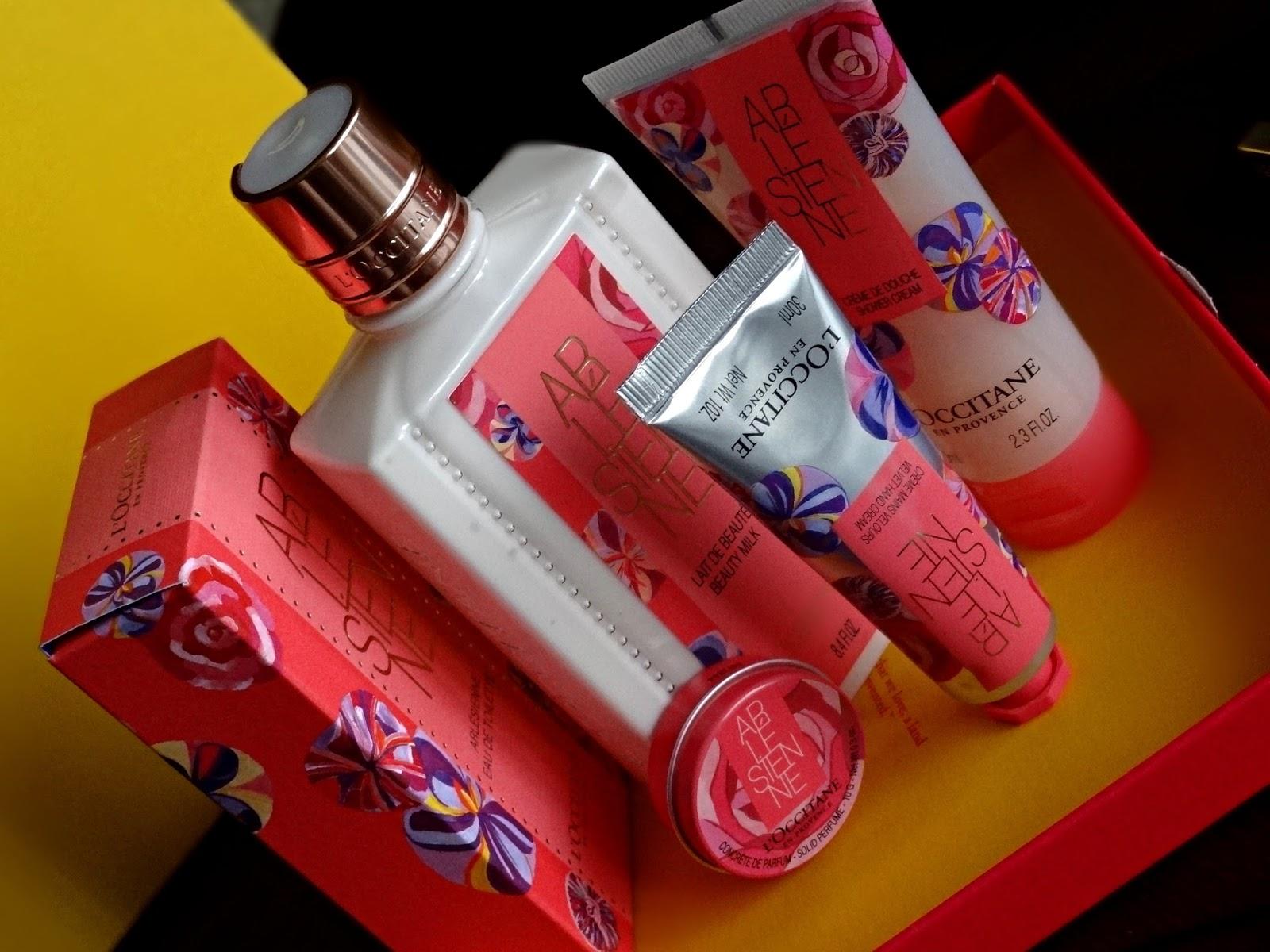 L'occitane Arlesienne EDT, Hand Cream, Shower Cream, SOlid Perfume and Body Milk