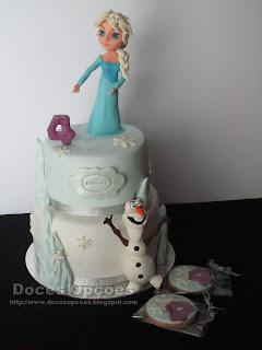 Um aniversário Frozen O Reino do Gelo