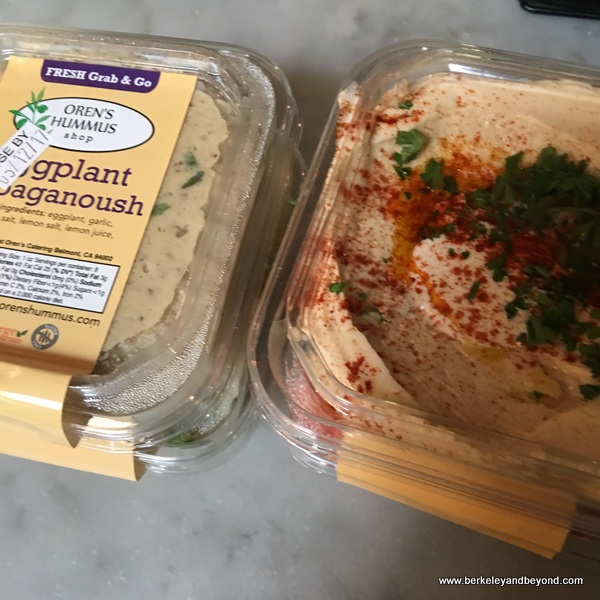 grab and go at Oren's Hummus Shop in Palo Alto, California