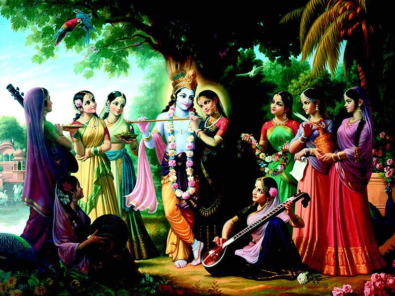 Load Krishanashree Radhe Krishna Hd Wallpaper Free Desktop Download