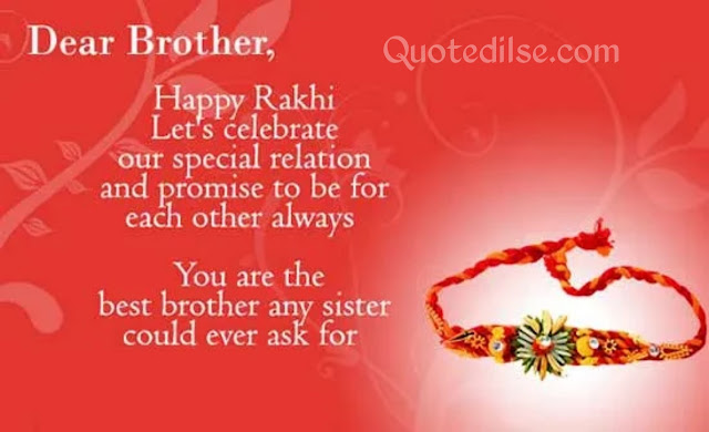 quotes for brother on raksha bandhan