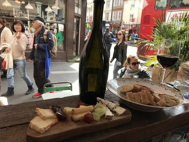 Lunch at Champagne et Fromage, Greenwich, London