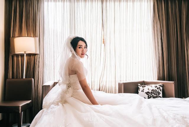 花園酒店, 台北婚攝, 迎娶, 白紗造型