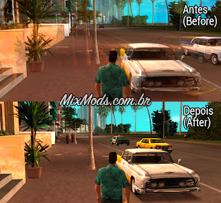 gta vice city mod disable sharp trails blur skygfx ps2 pc