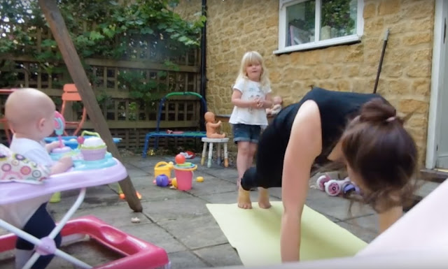 How to keep fit as a mum