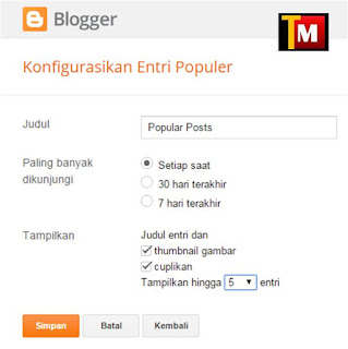 tutorial popular post cara3