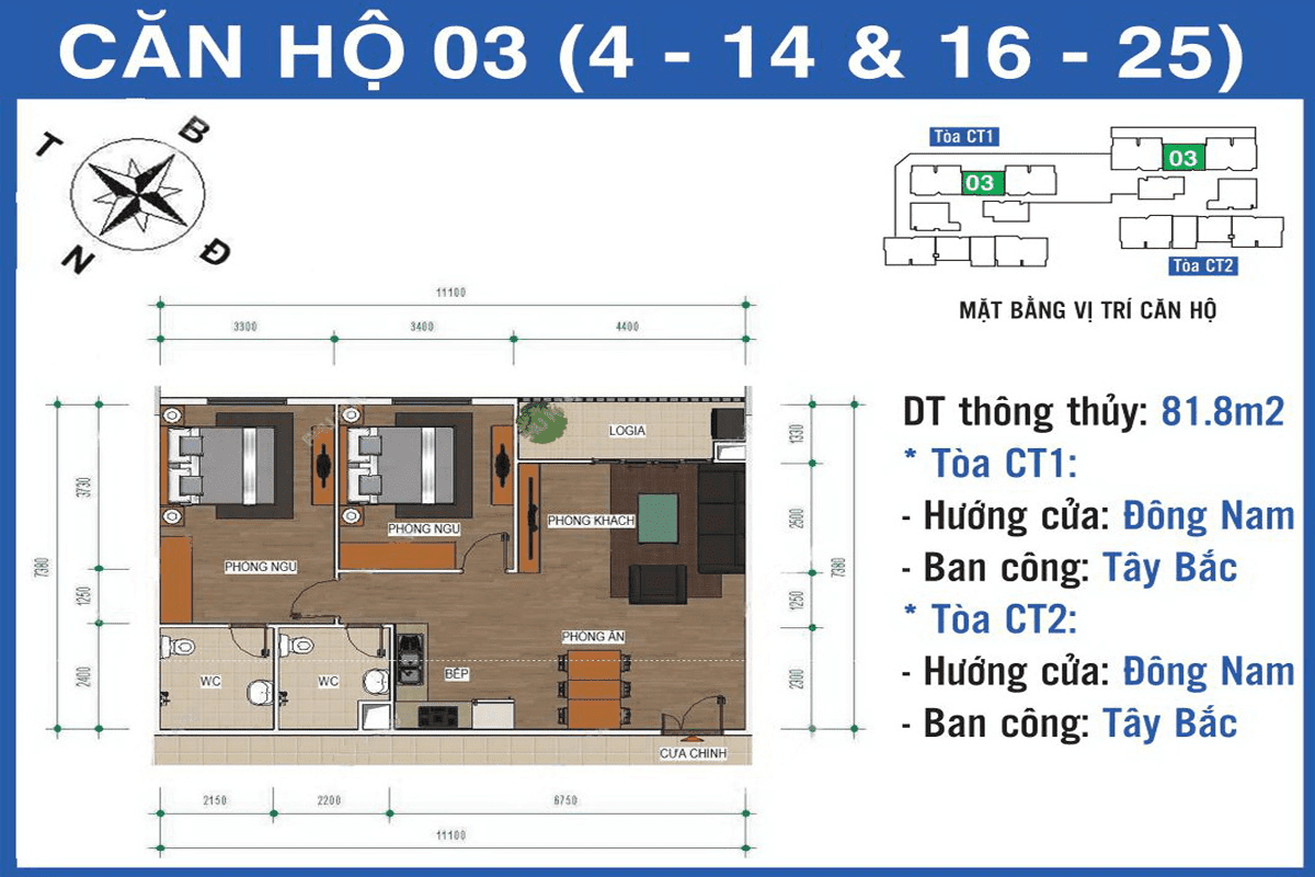 Căn 03 dự án Ban Cơ Yếu Chính Phủ Lê Văn Lương