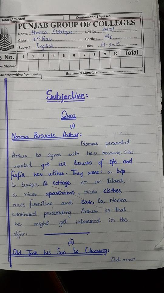 Ics 400 Final Exam Answer Key