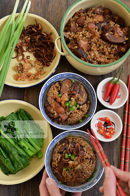 claypot brown rice