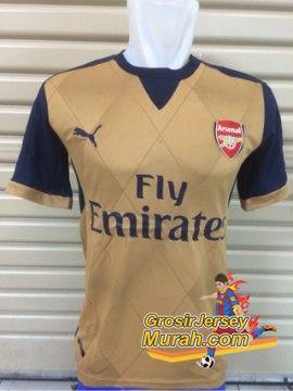 Toko Jersey Arsenal di Jakarta, Jual Jersey Arsenal Away 2014 dan 2015