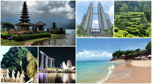 Viaje a Singapur, Bali y Kuala Lumpur: itinerario