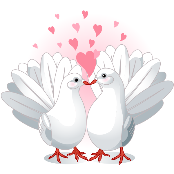 Love Is in the Air - Love Doves