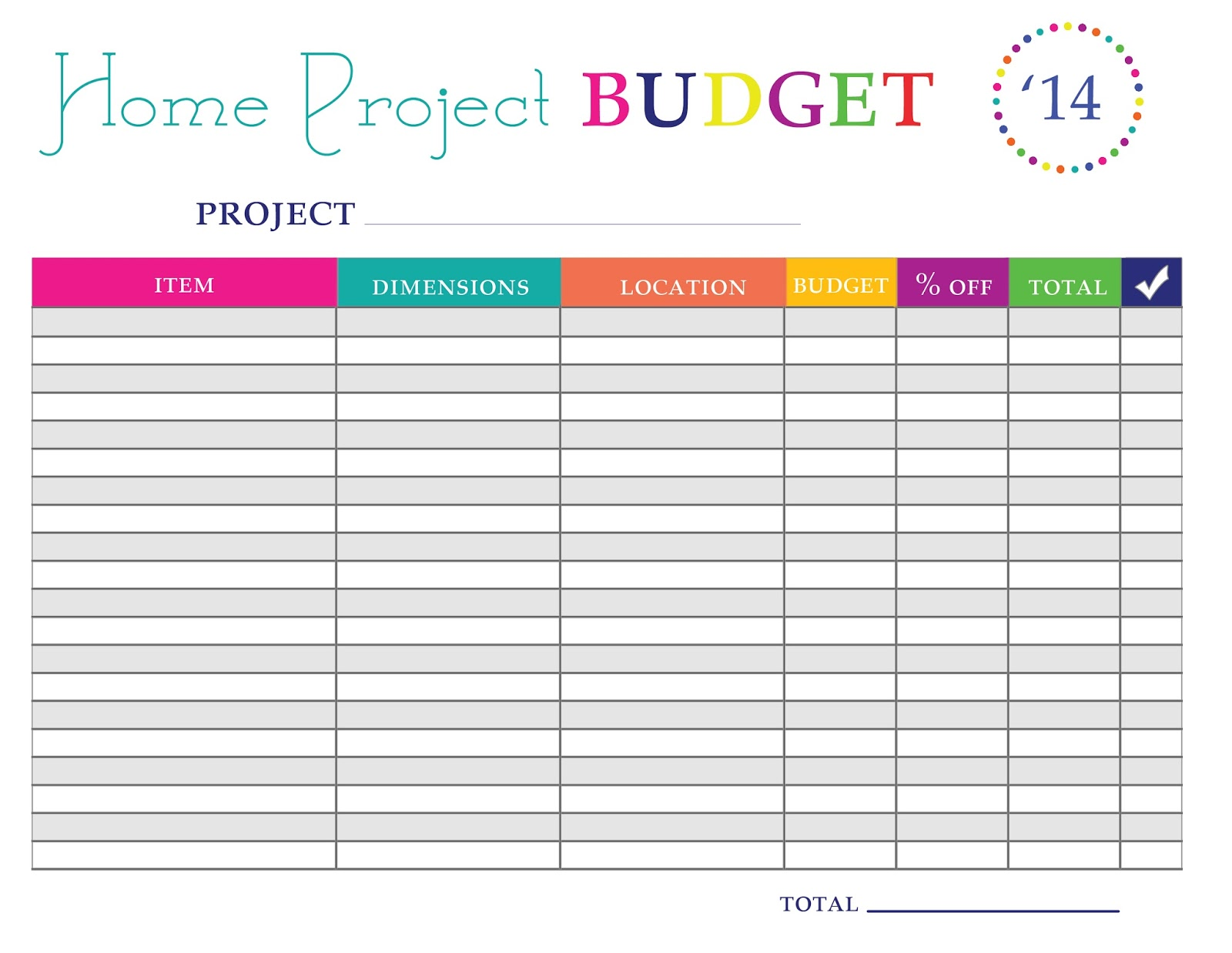 Home Management Bundle Free Printables One