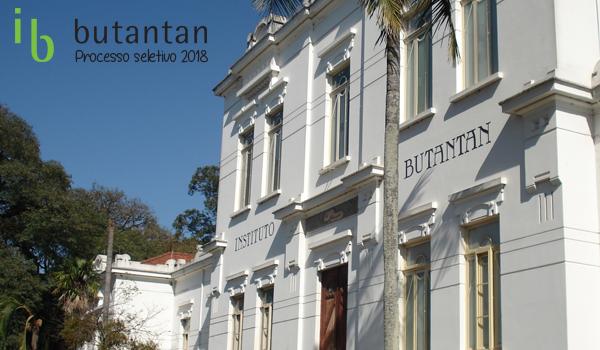 Estágio no Instituto Butantan em 2018